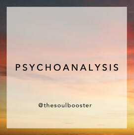 PSYCHOANALYSIS Therapy sessions by THE SOUL BOOSTER® Psychotherapist