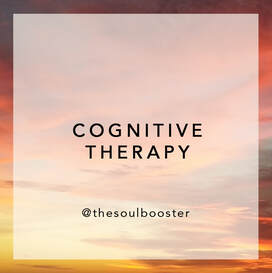 COGNITIVE THERAPY sessions by THE SOUL BOOSTER® Psychotherapist